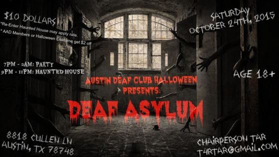 austin deaf club halloween party 2015