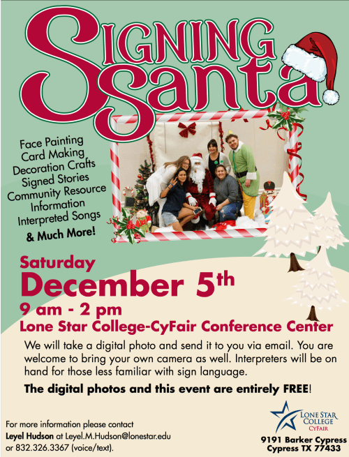5th Annual Signing Santa - 12-5-15