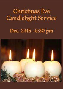 San Antonio church christmas eve flyer 2015