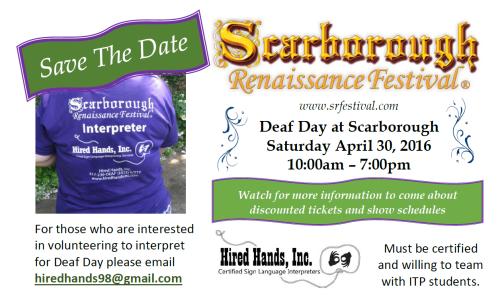 scarborough deaf fair 2016 flyer