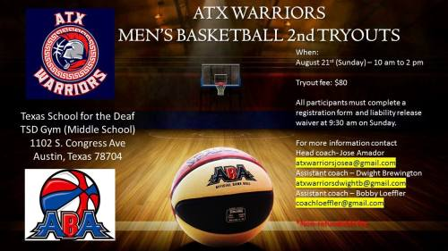 atx 2nd tryout flyer