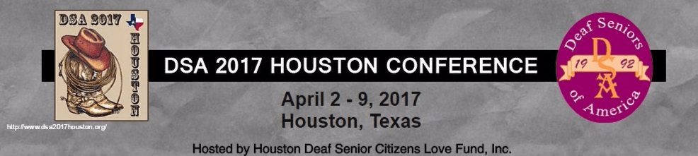 Deaf Seniors Of America Conference Early Bird Combo End