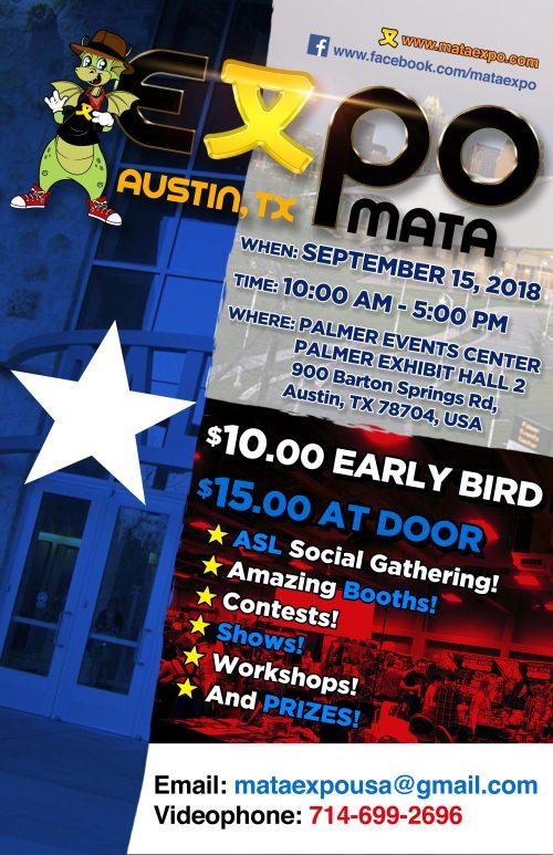 Mata Expo 2018 Austin Deaf Network Of Texas