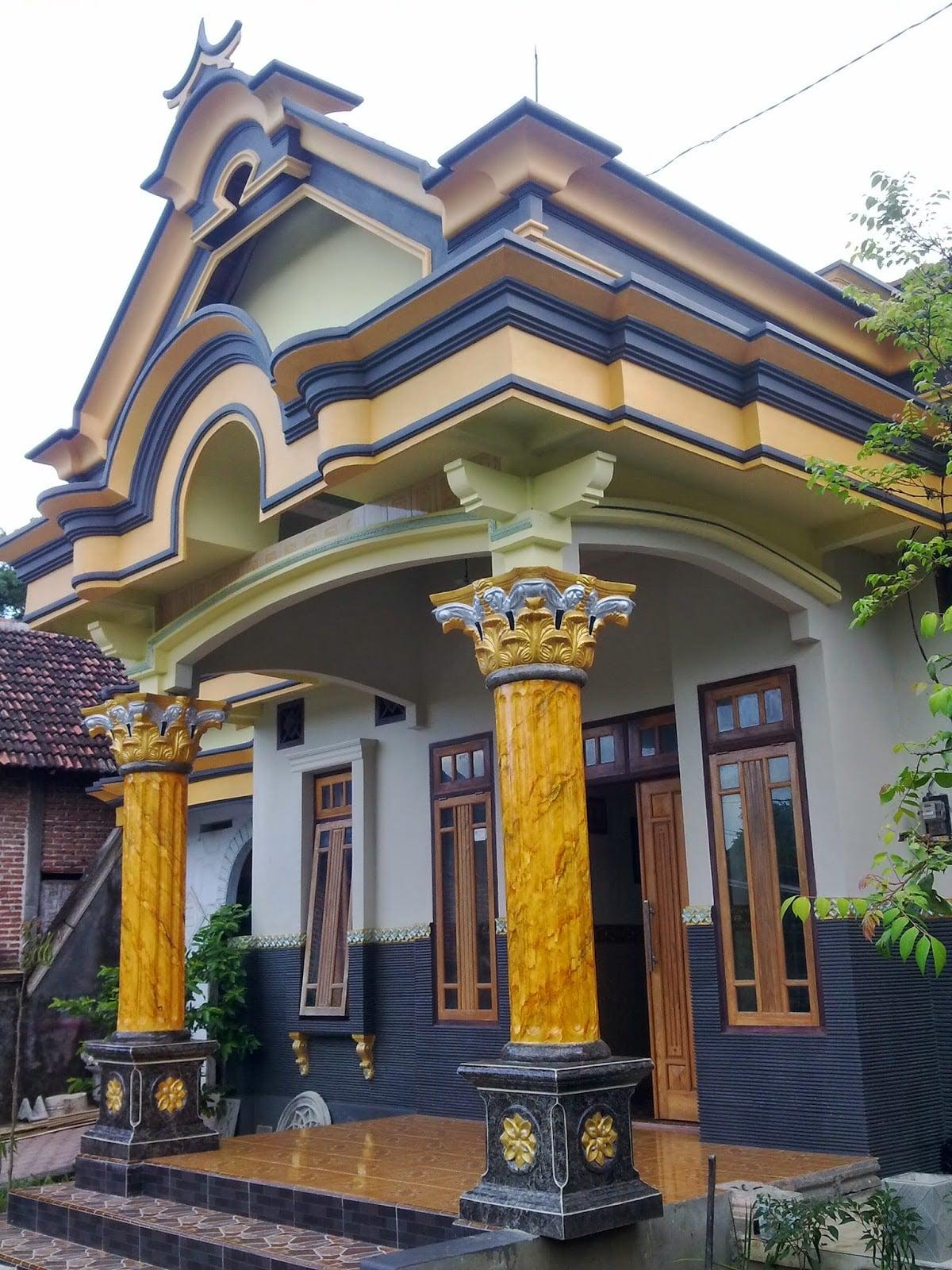 Gambar Teras Rumah Klasik : gambar, teras, rumah, klasik, Trend, Desain, Teras, Rumah, Joglo, Klasik, Terbaik, Deagam, Design