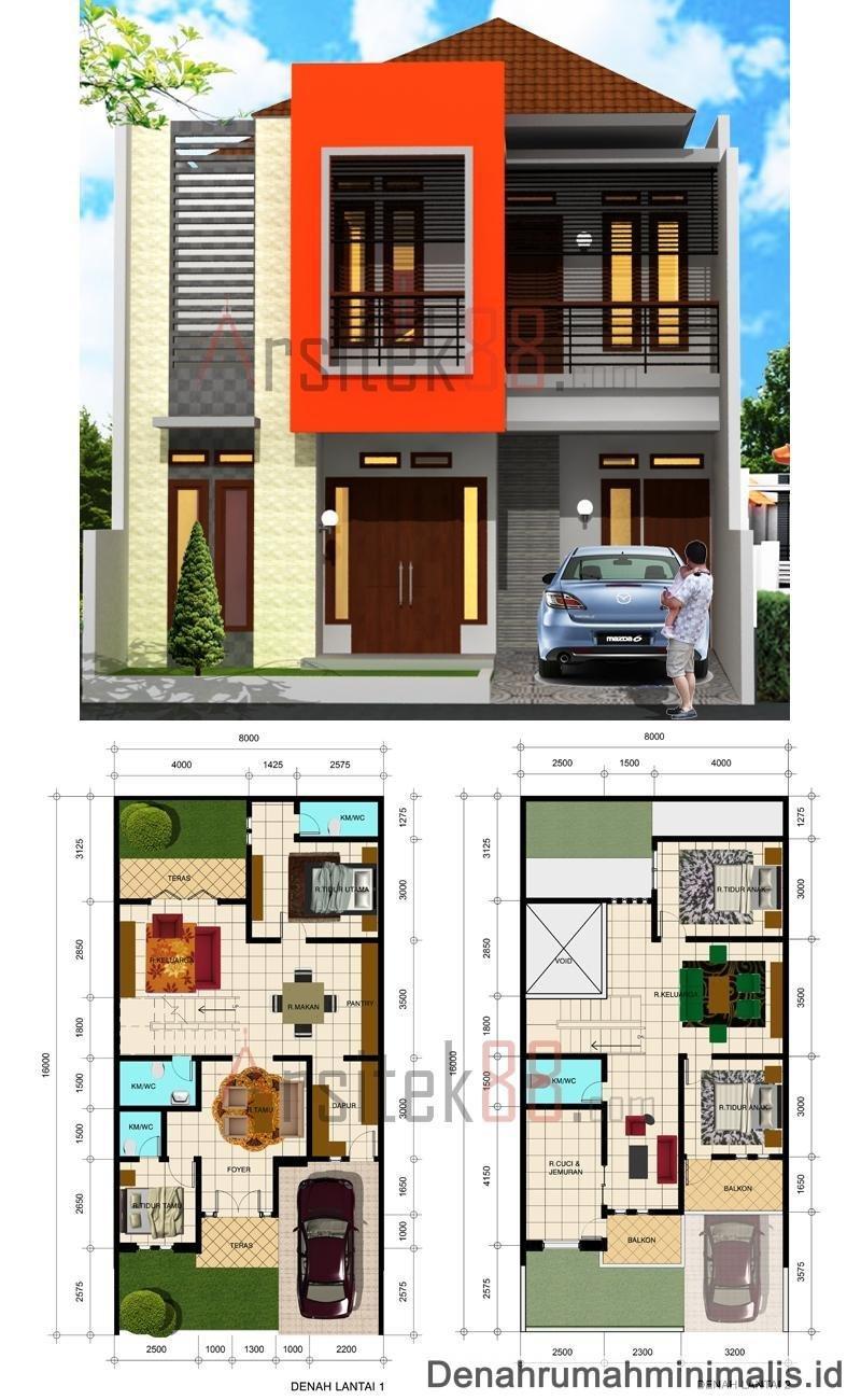Rumah Minimalis 6x12 Tampak Depan : rumah, minimalis, tampak, depan, Desain, Rumah, Minimalis, Tampak, Depan, Archives, Deagam, Design