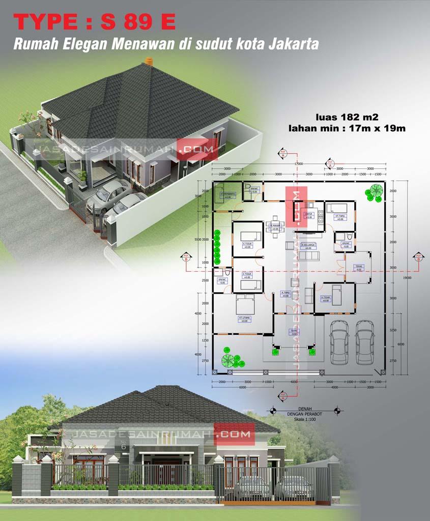 Atap Rumah Limas : rumah, limas, Inspirasi, Desain, Rumah, Limas, Terbaru, Terlengkap, Deagam, Design