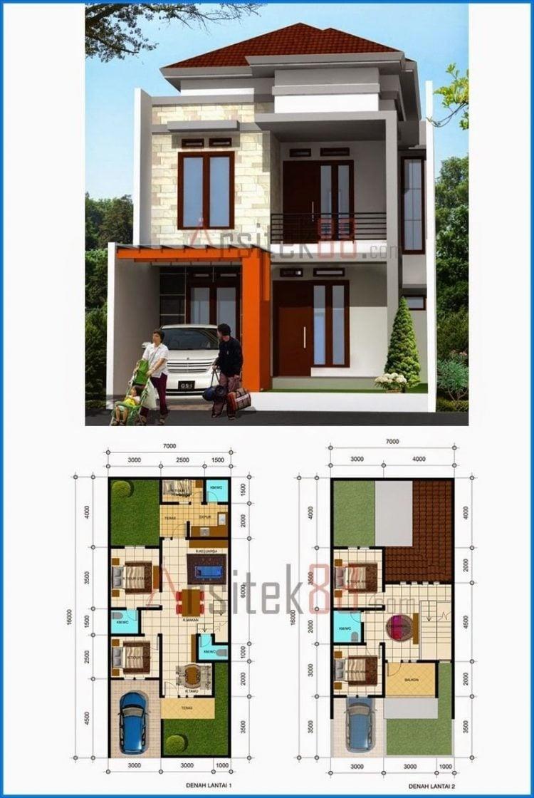 Rumah Minimalis 6x12 Tampak Depan : rumah, minimalis, tampak, depan, Desain, Rumah, Minimalis, Tampak, Depan, Ukuran, Paling, Banyak, Minati, Deagam, Design