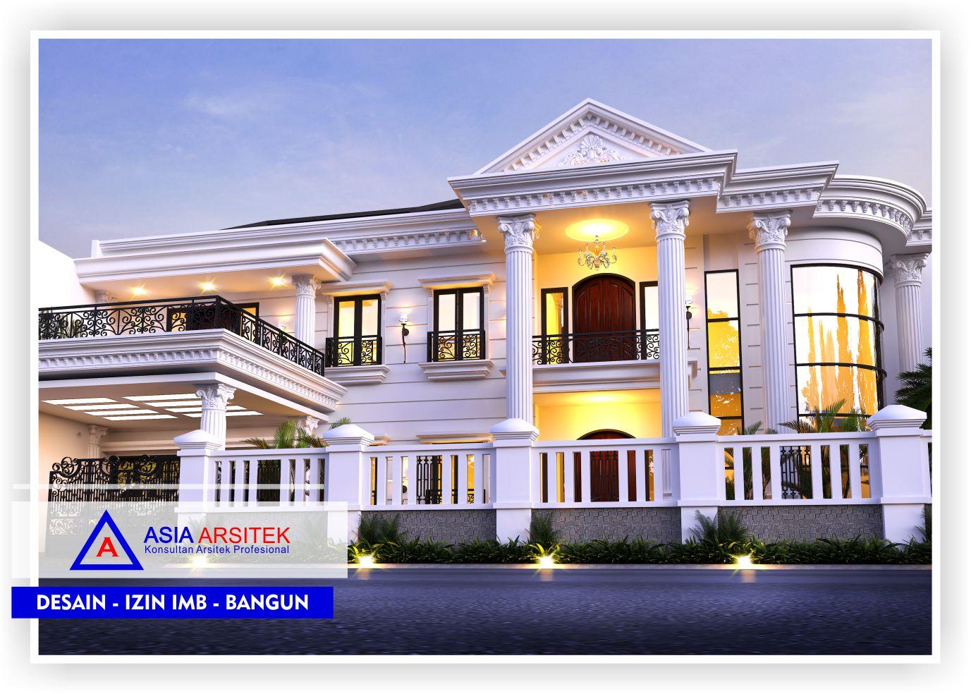 Model Rumah Klasik Eropa Desain Rumah Super Mewah 2 Lantai Cek Bahan Bangunan