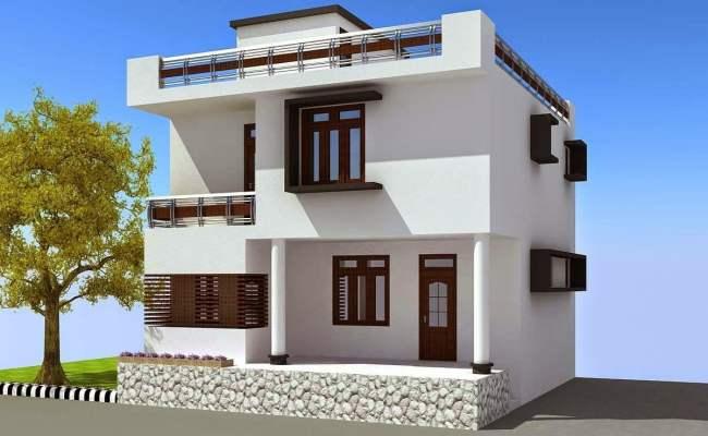 40 Rumah Minimalis 2 Lantai Atap Datar Terpopuler Lingkar Png