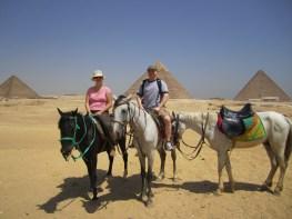 Deah and Ken at Giza