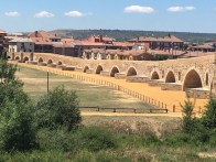 Rebuilt Roman bridge