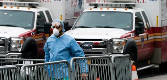 VIDEO: Graba lo que pasa en hospital de N.Y. con infectados por coronavirus