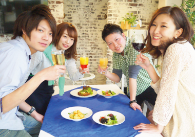 【東京都】♀1,500♂5,500!!同世代ランチパーティー
