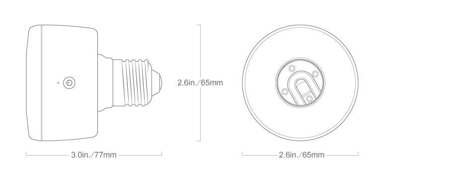 Koogeek Smart Socket (Light Adapter)