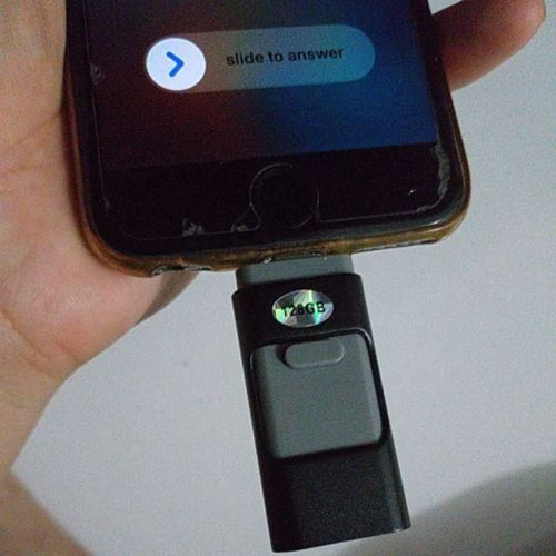 iFlash™ - USB Drive for iPhone, iPad & Android (2019 Upgraded) photo review