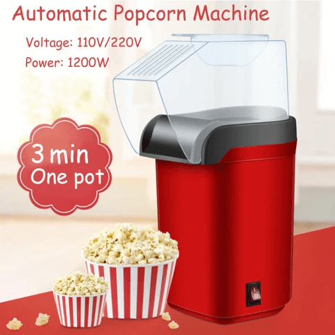 Hot Air Popper Popcorn Maker (50% OFF)