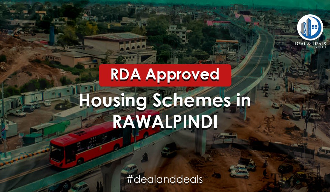 RDA Approved Housing Societies in Rawalpindi