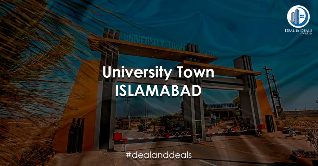 University Town Islamabad - Deal & Deals