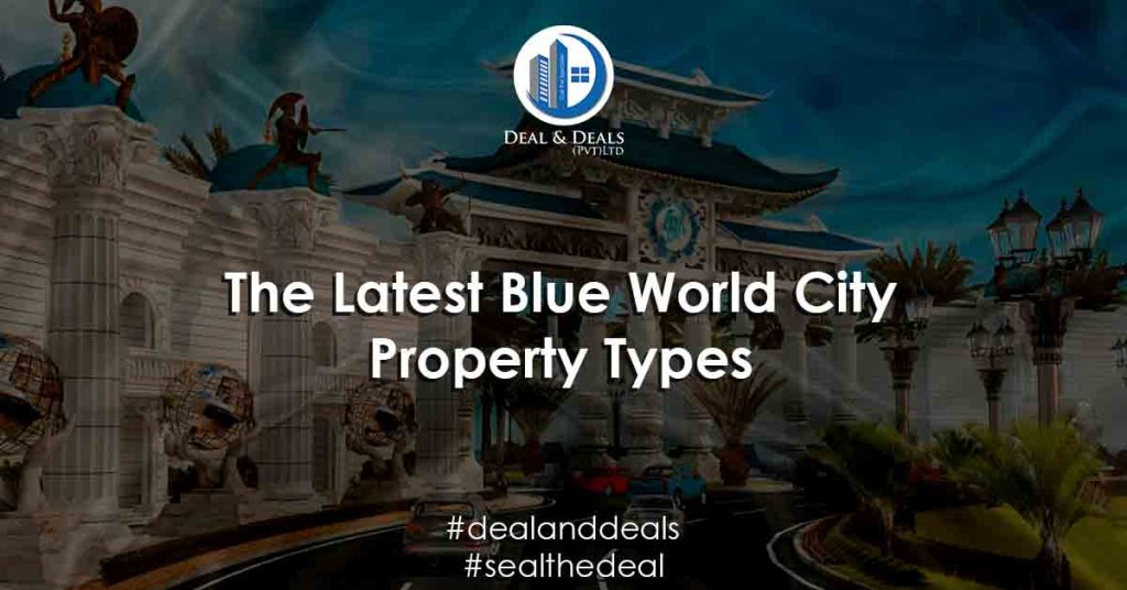 The Latest Blue World City Property Types
