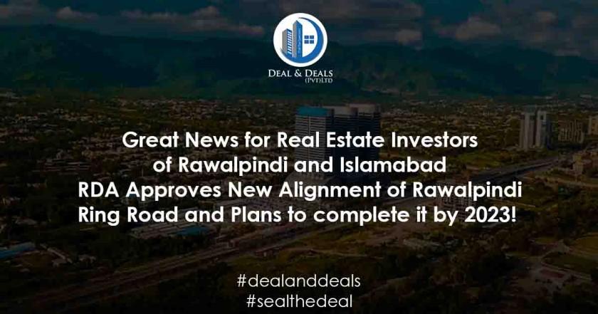 RDA Approves New Alignment of Rawalpindi Ring Road
