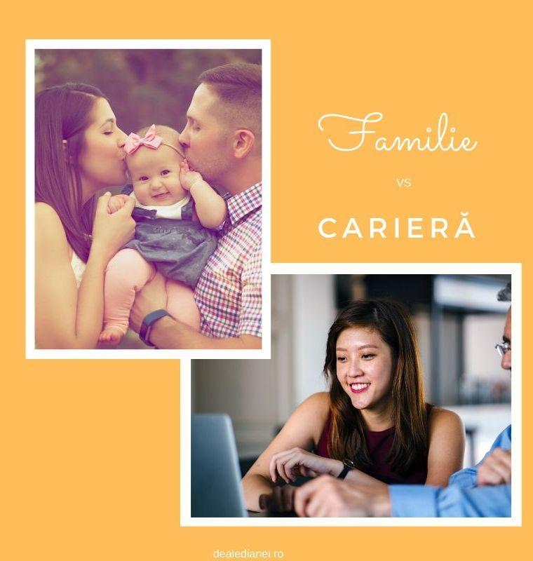 Familie vs.carieră