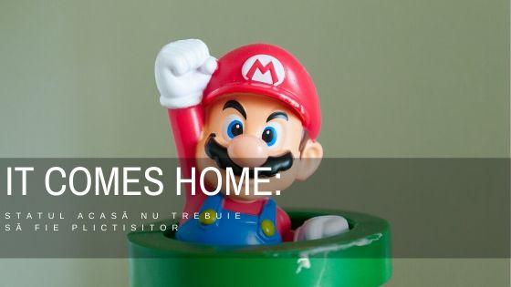 IT comes home: statul acasă nu trebuie să fie plictisitor