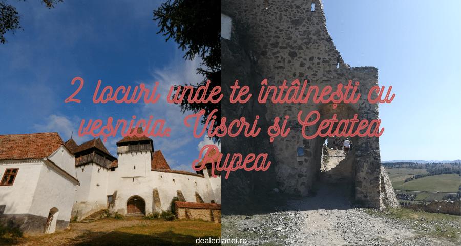 Viscri și Cetatea Rupea