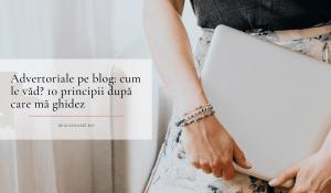advertoriale pe blog