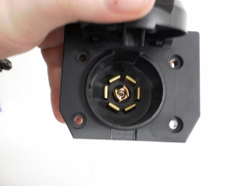 Wiring Code 7 Way Car End Color Gage Circuit Function Connector