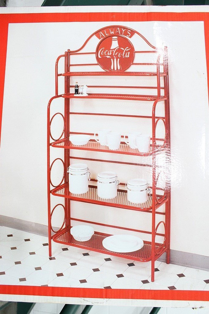 CocaCola Bakers Rack  GR Auto Gallery