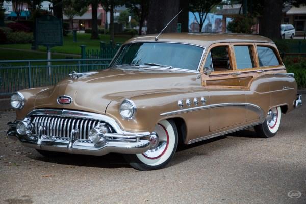 1952 Buick Roadmaster Estate Wagon Art & Speed Classic