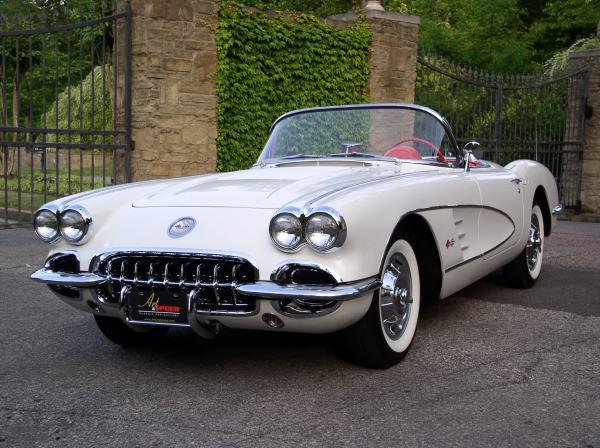 1958 Chevrolet Corvette Art & Speed Classic Car