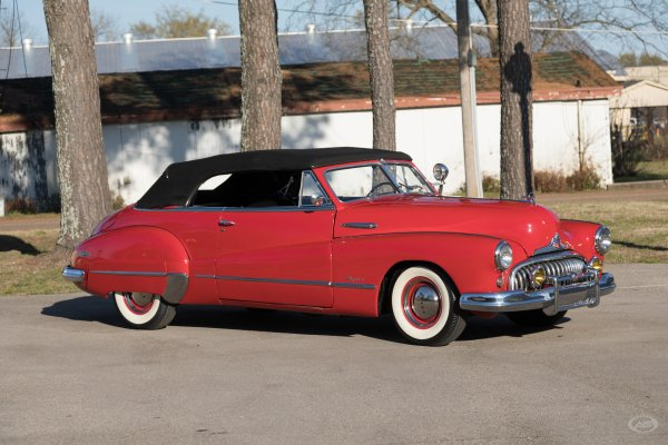 1948 Buick Super Art & Speed Classic Car In