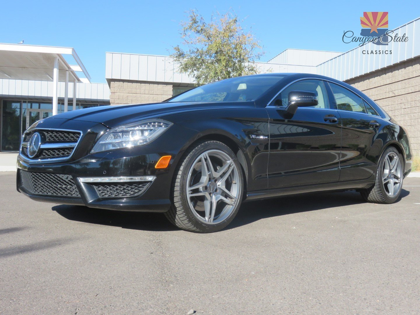 2012 Mercedes-Benz CLS63 AMG   Canyon State Classics