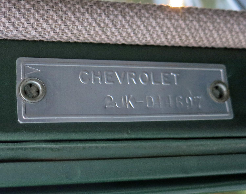 1956 Chevy Vin Location 1949 Truck