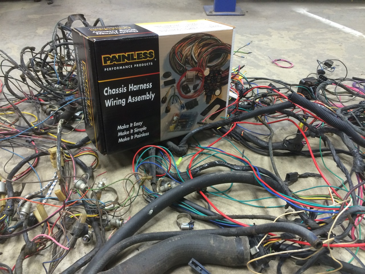 hight resolution of classic car wiring is painless with custom classics custom painless auto wiring harness