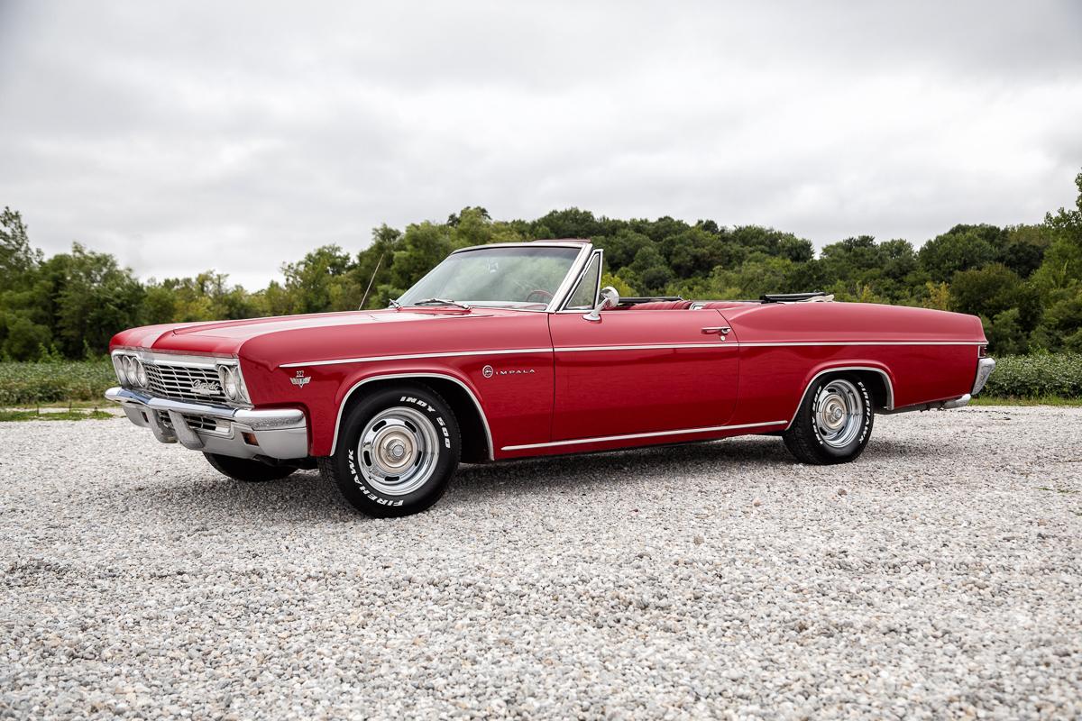 1966 Chevy Impala Wheels