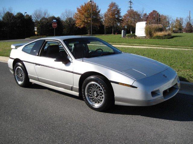 Pontiac Fiero Wheelbase
