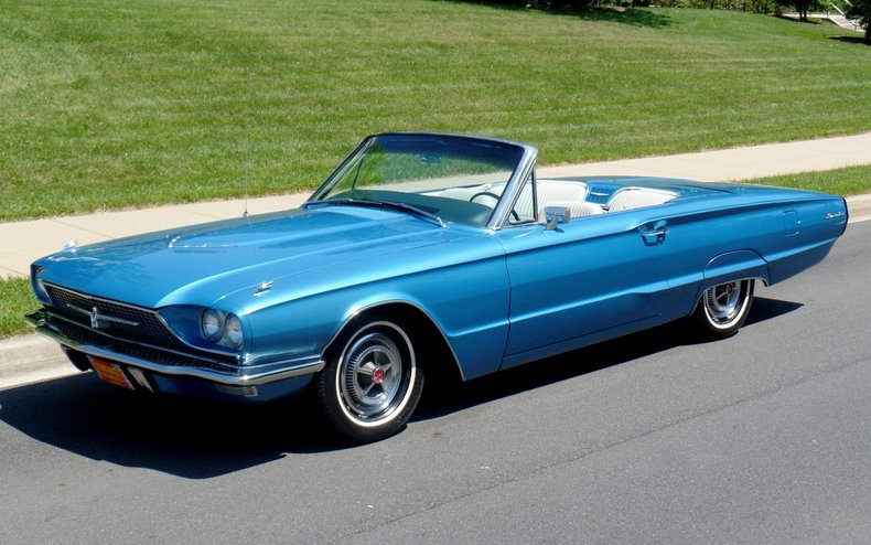 Blue 1965 Mustang Convertible