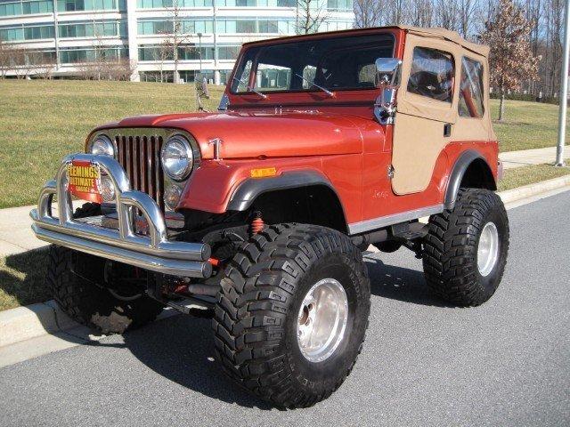 1979 Jeep Cj7 Frame