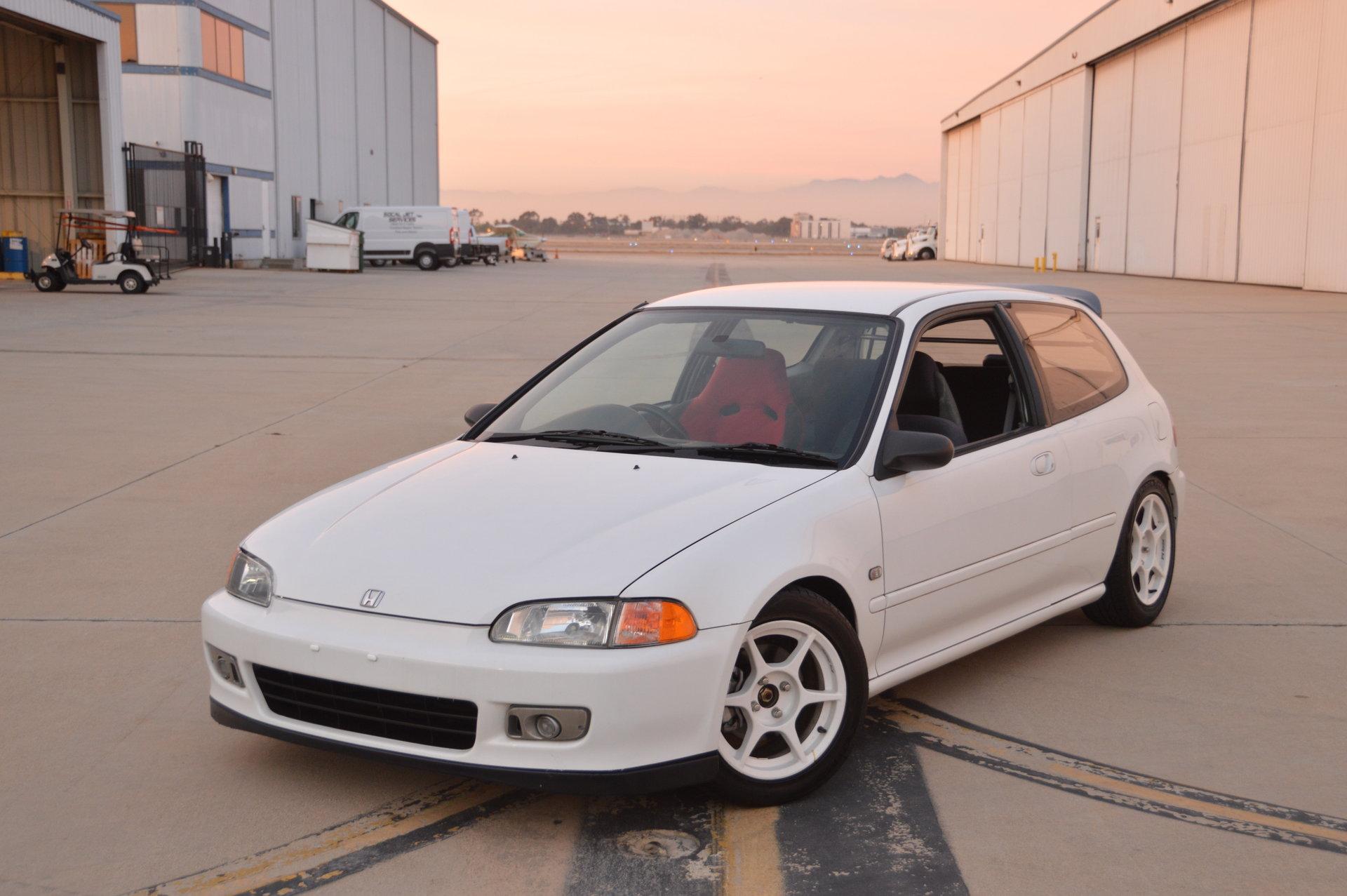 1992 Honda Civic Hood