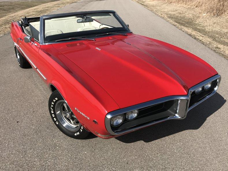 1968 Pontiac Firebird Used For Sale 460 Horsepower Racing Slicks