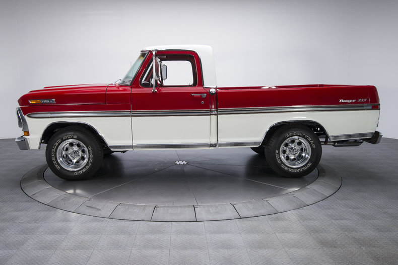 Red White Trucks Images Ford 1970 Farm And
