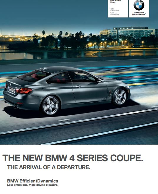 BMW F32 4 Series Coupe 428i Technical Specs, Dimensions