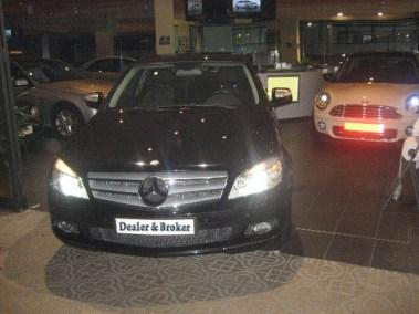 Mercedes C 220 cdi negro