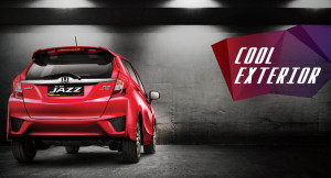eksterior all new honda jazz