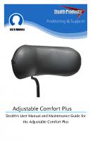 Adjustable Comfort Plus