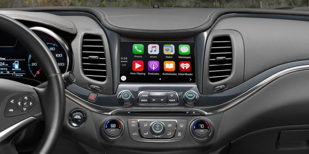 medium resolution of chevy impala apple carplay