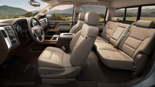small resolution of plenty of space for passengers in the 2018 silverado 1500