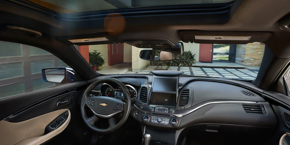 medium resolution of 2018 chevrolet impala interior